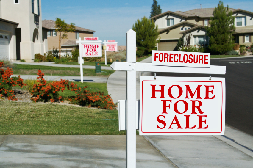 Foreclosures in the San Diego real estate market are down.